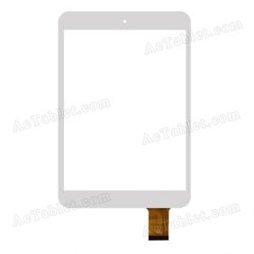 F0639 KDX Digitizer Glass Touch Screen Replacement for 7.9 Inch MID Tablet PC