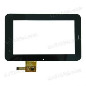 HS1208 Digitizer Glass Touch Screen Replacement for 7 Inch MID Tablet PC