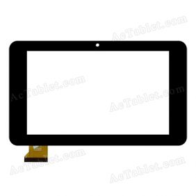 PB70DR8173 Digitizer Glass Touch Screen Replacement for 7 Inch MID Tablet PC