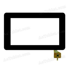 PB70DR8155-R1 Digitizer Glass Touch Screen Replacement for 7 Inch MID Tablet PC