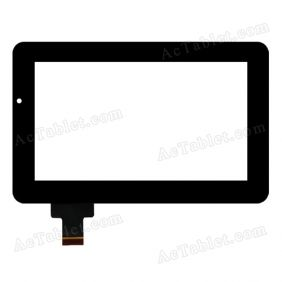 HOTATOUH C116184B2-DRFPC068T-V1.0 Digitizer Glass Touch Screen Replacement for 7 Inch MID Tablet PC