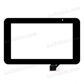 GKG0362A Digitizer Glass Touch Screen Replacement for 7 Inch MID Tablet PC
