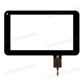 BKG0420 Digitizer Glass Touch Screen Replacement for 7 Inch MID Tablet PC