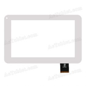 GKG0358A Digitizer Glass Touch Screen Replacement for 7 Inch MID Tablet PC
