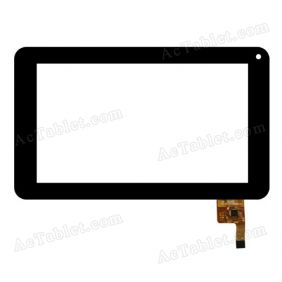 FPC-TP070011(DR1334)-01 Digitizer Glass Touch Screen Replacement for 7 Inch MID Tablet PC