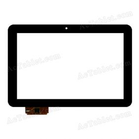 Digitizer Touch Screen for for Prestigio PMP71003G MultiPad 4 Ultimate 3G 10.1 Inch Tablet PC