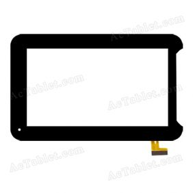 DY-F-07047-V2 Digitizer Glass Touch Screen Replacement for 7 Inch MID Tablet PC