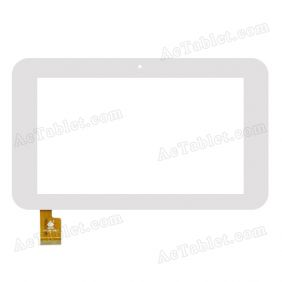 TPC0185 VER2.0 Digitizer Glass Touch Screen Replacement for 7 Inch MID Tablet PC