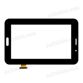 XC-PG0700-040-FPC Digitizer Glass Touch Screen Replacement for 7 Inch MID Tablet PC