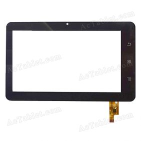 DY-F-07008-V1 Digitizer Glass Touch Screen Replacement for 7 Inch MID Tablet PC