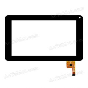 FPC-TP070072(DR1334)-00 Digitizer Glass Touch Screen Replacement for 7 Inch MID Tablet PC
