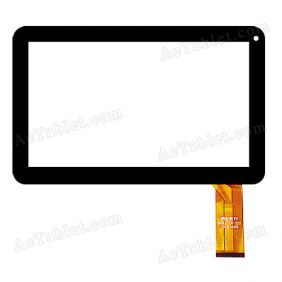 MGLCTP-222 Digitizer Glass Touch Screen Replacement for 10.1 Inch MID Tablet PC