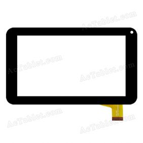 ZCC-2051 Digitizer Glass Touch Screen Replacement for 7 Inch MID Tablet PC