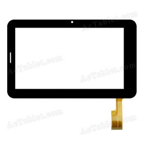 F-1301A1 7.03 FPC Digitizer Glass Touch Screen Replacement for 7 Inch MID Tablet PC