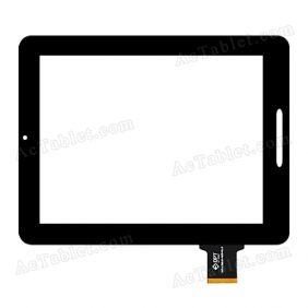 300-L3611A-A00-V1.0 Digitizer Glass Touch Screen Replacement for 9.7 Inch MID Tablet PC
