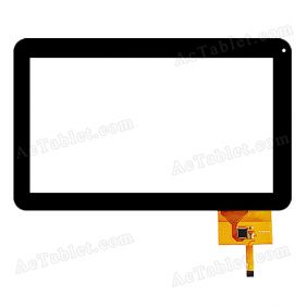 XC-PG1010-02 FPC Digitizer Glass Touch Screen Replacement for 10.1 Inch MID Tablet PC