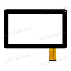 XC-GG0900-015-A0-FPC Digitizer Glass Touch Screen Replacement for 9 Inch MID Tablet PC