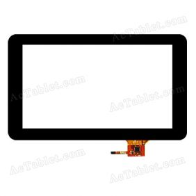 QSD E-C9011-01 Digitizer Glass Touch Screen Replacement for 9 Inch MID Tablet PC