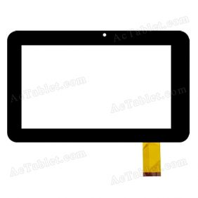 CTP-016A Digitizer Glass Touch Screen Replacement for 7 Inch MID Tablet PC