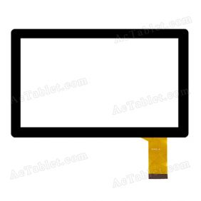 70342-A1 Digitizer Glass Touch Screen Replacement for 7 Inch MID Tablet PC