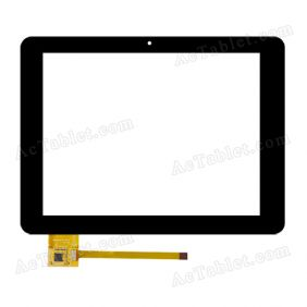 UK080025G-01(V0.2) Digitizer Glass Touch Screen Replacement for 8 Inch MID Tablet PC