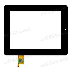 080066-03A-V1 Digitizer Glass Touch Screen Replacement for 8 Inch MID Tablet PC