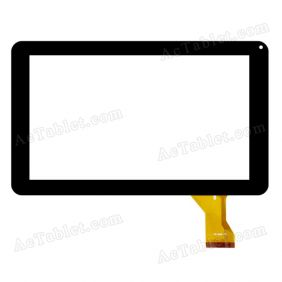 ZJ-90010A Digitizer Glass Touch Screen Replacement for 9 Inch MID Tablet PC