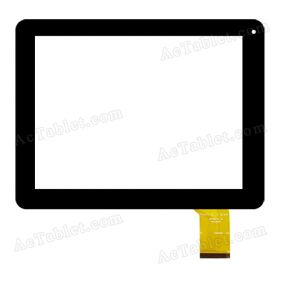 E-C97055-02 Digitizer Glass Touch Screen Replacement for 9.7 Inch MID Tablet PC
