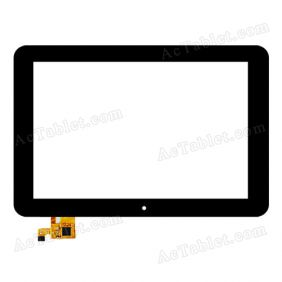 TOPSUN_F0027_A3 Digitizer Glass Touch Screen Replacement for 10.1 Inch MID Tablet PC