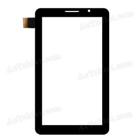 RSD-W102 Digitizer Glass Touch Screen Replacement for 7 Inch MID Tablet PC