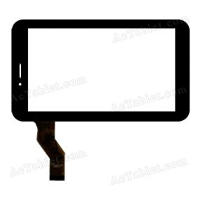 LLT-P29045A YTG-P70028-F1 Digitizer Glass Touch Screen Replacement for 7 Inch MID Tablet PC