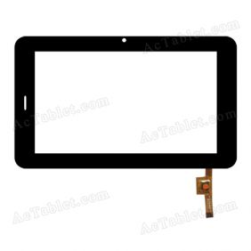 EST 04-0700-0893V1 Digitizer Glass Touch Screen Replacement for 7 Inch MID Tablet PC