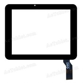 300-L3769A-B00-V1.0 Digitizer Glass Touch Screen Replacement for 8 Inch MID Tablet PC