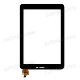 0PD-TPC163 Digitizer Glass Touch Screen Replacement for 7 Inch MID Tablet PC