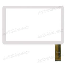 XC-PG0700-04 Digitizer Glass Touch Screen Replacement for 7 Inch MID Tablet PC