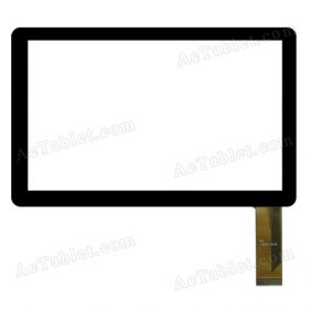 SWCTP07055-3 FHX Digitizer Glass Touch Screen Replacement for 7 Inch MID Tablet PC