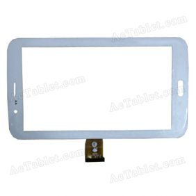 TPC1402 VER2.0 Digitizer Glass Touch Screen Replacement for 7 Inch MID Tablet PC