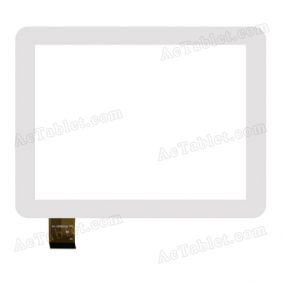 WJ-DR80018 FPC Digitizer Glass Touch Screen Replacement for 8 Inch MID Tablet PC