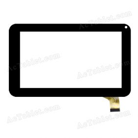 CZY6632A01-FPC Digitizer Glass Touch Screen Replacement for 7 Inch MID Tablet PC