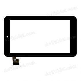 TPC0782 VER2.0 Digitizer Glass Touch Screen Replacement for 7 Inch MID Tablet PC