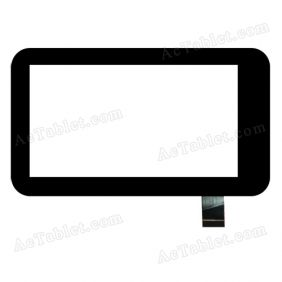 1210 ZK-6018 Digitizer Glass Touch Screen Replacement for 7 Inch MID Tablet PC