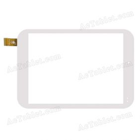 TPC0737 VER3.0 Digitizer Glass Touch Screen Replacement for 7.9 Inch MID Tablet PC