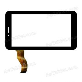 CTD FM710101KB 20131217 Digitizer Glass Touch Screen Replacement for 7 Inch MID Tablet PC