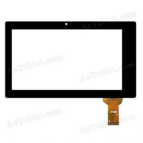 Z7Z290 Digitizer Glass Touch Screen Replacement for 7 Inch MID Tablet PC