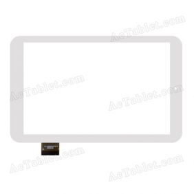FPC-TP080020(C0773)-00 Digitizer Glass Touch Screen Replacement for 7 Inch MID Tablet PC
