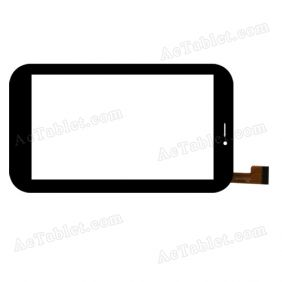 JQFP07025A Digitizer Glass Touch Screen Replacement for 7 Inch MID Tablet PC