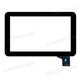 TPC1129 VER1.0 Digitizer Glass Touch Screen Replacement for 9 Inch MID Tablet PC