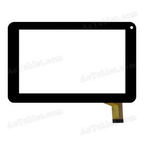 SKD-13025A Digitizer Glass Touch Screen Replacement for 7 Inch MID Tablet PC