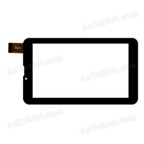 JQFP07015A Digitizer Glass Touch Screen Replacement for 7 Inch MID Tablet PC