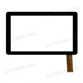 FPC-070-033-C-V0.1 Digitizer Glass Touch Screen Replacement for 7 Inch MID Tablet PC